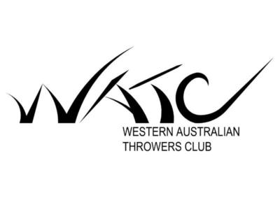 WA Throwers Club Logo