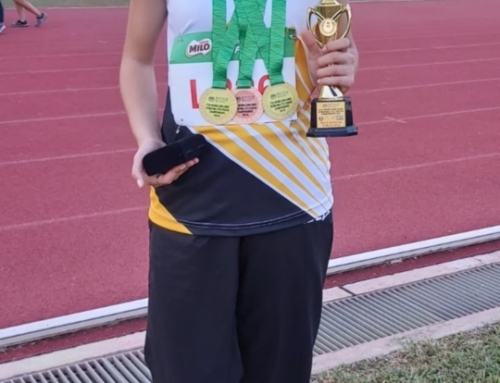 Caitlin Bezuidenhout Crowned Best Athlete U14 Girls at the 27th International Athletics Malaysia Tour Championship