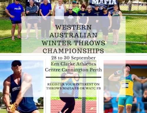 WA Winter Throws Championships