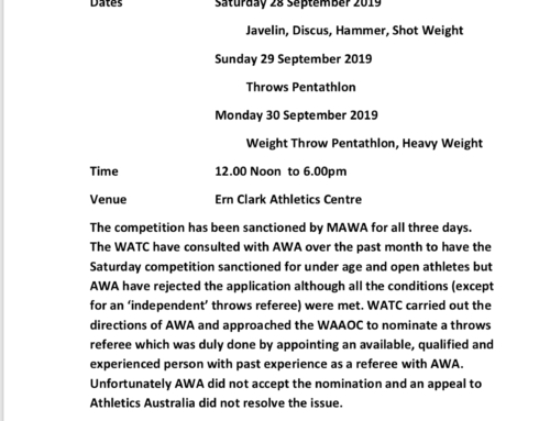 Three Day Competition