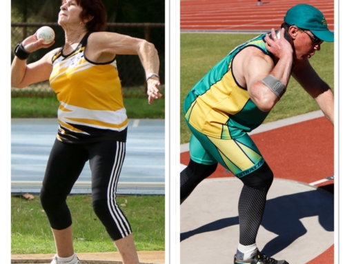 Beverley Hamilton and Andrew Ward bring home a Trove of Medals
